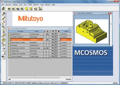 MCOSMOS CMM Software