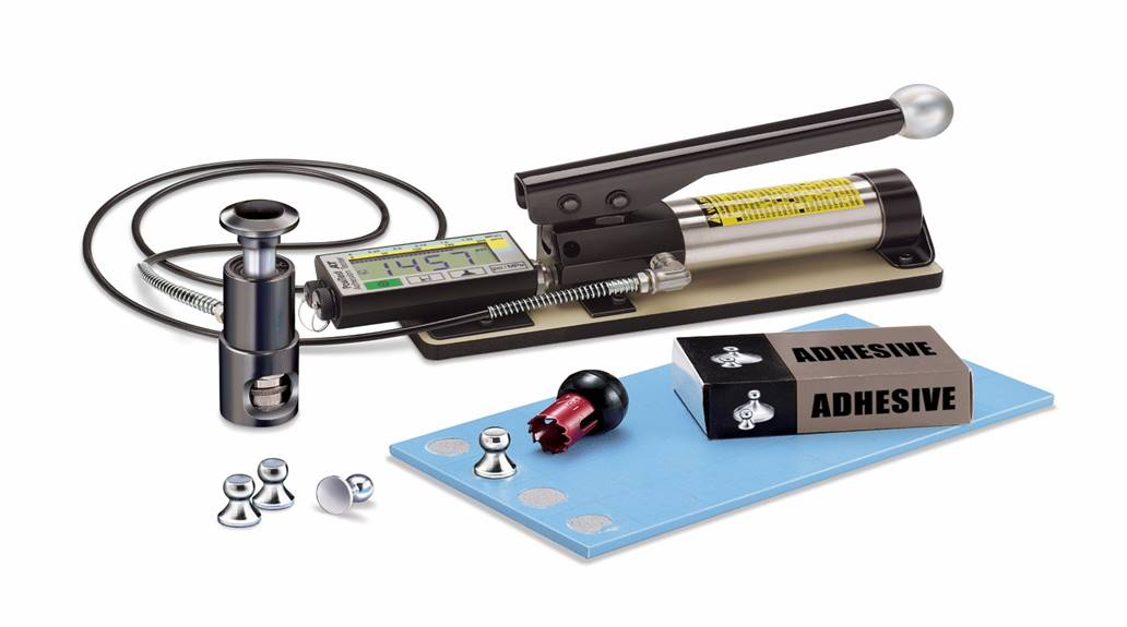 PULL-OFF ADHESION TESTER AT