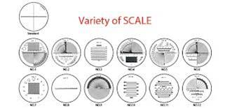Reticle Scales